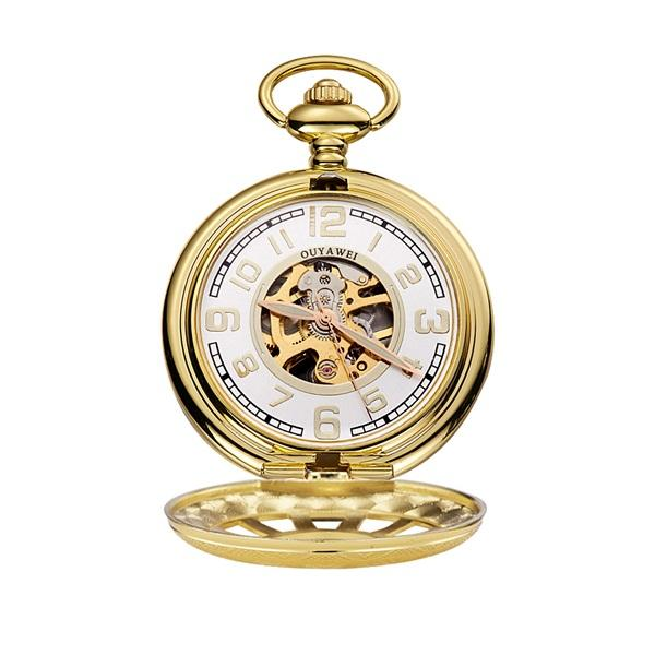 Gold Pocket Watch 2