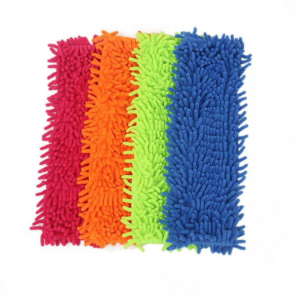 4pc Microfiber Head Floor The Mop To Replace Cloth Household Cleaning Tool Accessory C19041701