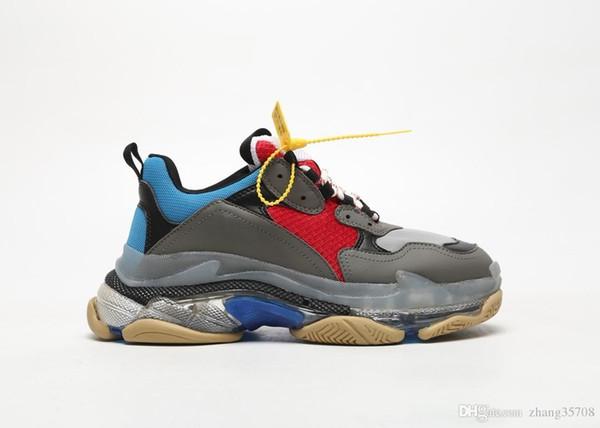 Designer de moda de luxo novo Melhor Daddy Shoes 3.0 Completa de Nitrogênio Inferior de Fundo de Cristal das mulheres dos homens tênis de Corrida sapatilhas A5