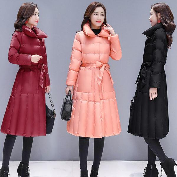 Yeni kadın ceket kış giyim kalın ceket kadın aşağı ceket sıcak parkas annelik aşağı giyim