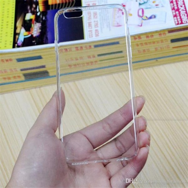 Waterproof Phone Cases For iPhone X 6 6S 8 7 Plus Soft Transparent Silicone Clear Case Back Cover Shell For iPhone X Cheap Price