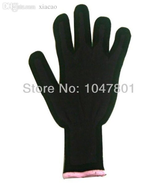 Оптово-термостойкие перчатки для керлинга и плоского железа, хлопок Термостойкие перчатки для инструментов для волос 50шт / лотВ наличии! Быстрая доставка!