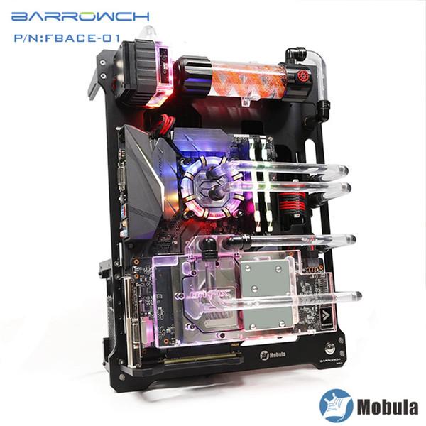 Barrowch Mobula Simple, caja de panel modular integrado, caja de refrigeración por agua FBACE-02