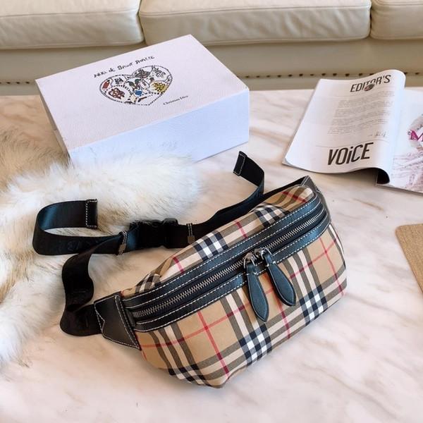 bolsas de cintura de hardware Placa mujeres cubren bolsillo de la manera teléfono móvil de cintura de la correa del pecho paquete de la señora del hombro Cadena elegante de 0323
