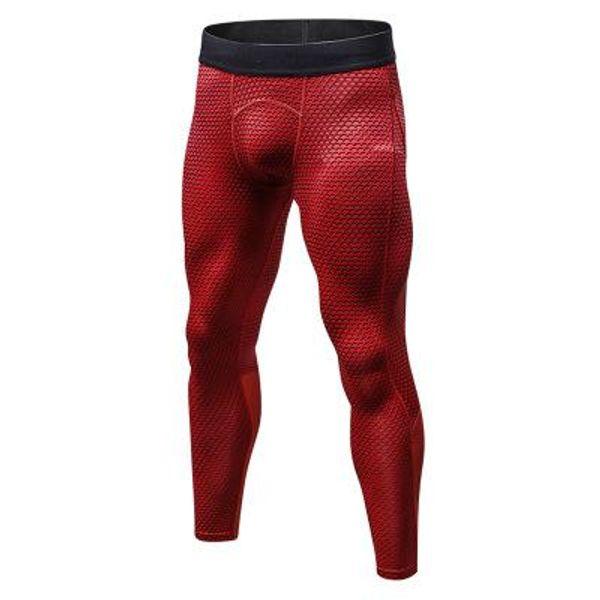 Compression hommes nouveaux leggings peau de serpent imprimé course en cours d'exécution Gym fitness homme Crossfit pantalons serrés capris pantalons de survêtement pantalons