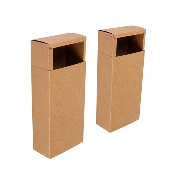 2 stücke Kraftpapier Schubladenkästen Hochzeit Süßigkeiten Geschenkbox für Handgemachte Seife Craft Jewel Verpackung Craft Pack Neuheiten