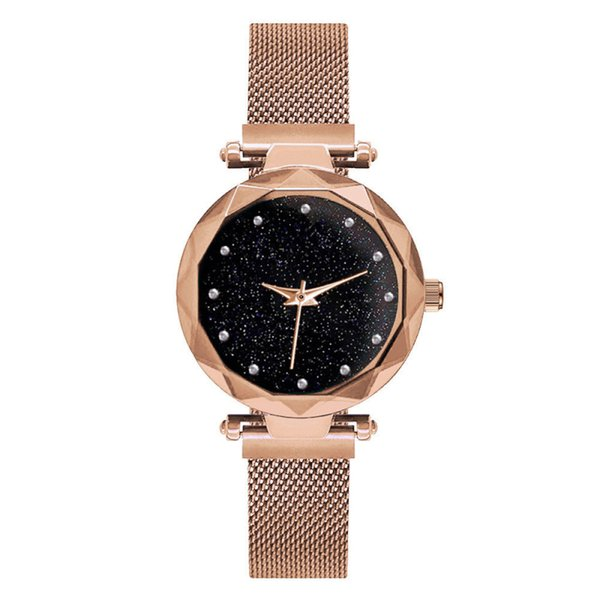 Women's fashion watch magnet Stainless steel Milan mesh Strap Purple diamond watches Tik Tok girl gift Dress Quartz Wristwatch Factory price