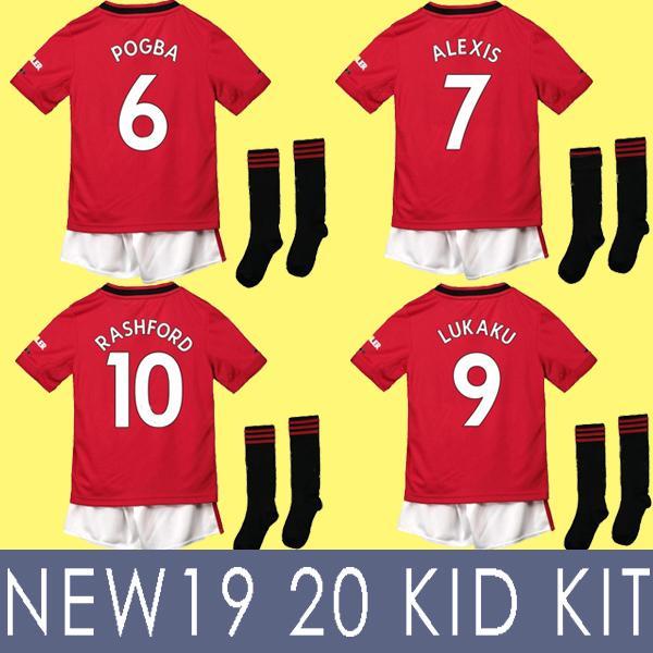 9368f593811 TOP 19 20 FC soccer jersey 2019 2020 Jerseys UTD UniTed POGBA LUKAKU  RASHFORD ALEXIS MAN