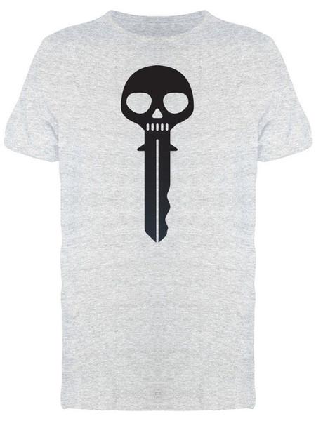 Skull Modern Key Men's Tee -Image mens pride dark t-shirt Custom Jersey t shirt