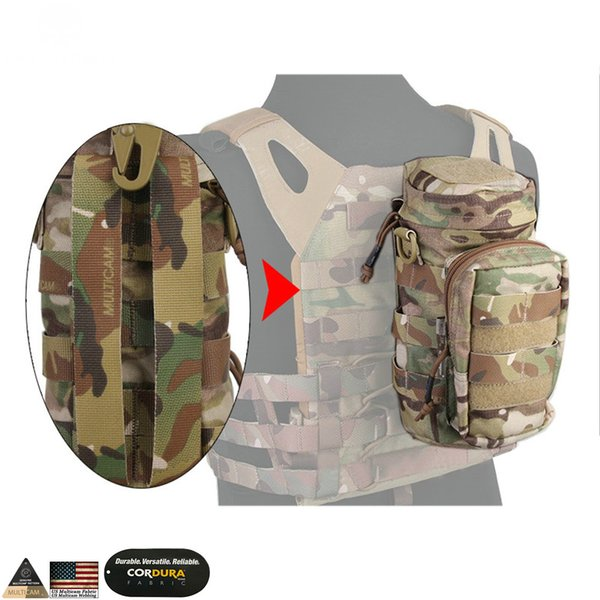 Molle Bag Tactical Backpack Borsa multiuso per caccia con impugnatura da combattimento emerson Pouch Multicam Black Pouch