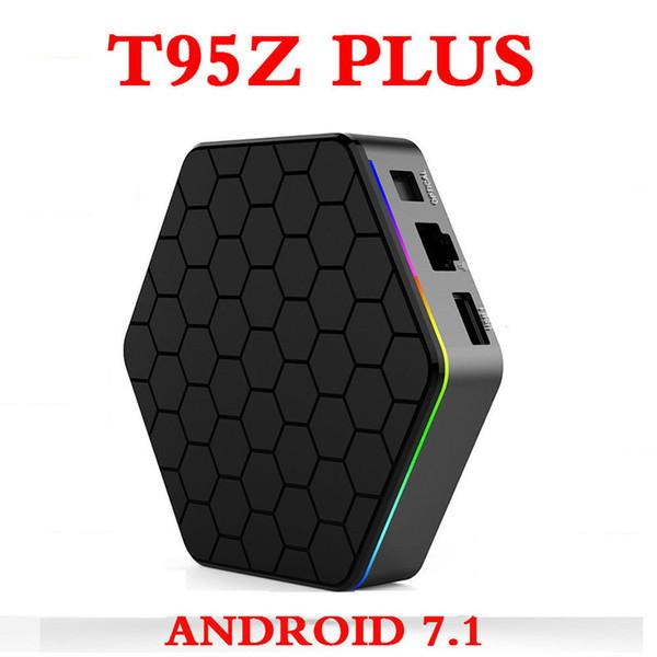 8PCS T95Z Plus Androdi TV Box Octa Core 2GB 16GB 3GB+32GB Amlogic S912 Android 7.1 2.4G/5GHz WiFi BT4.0 4K