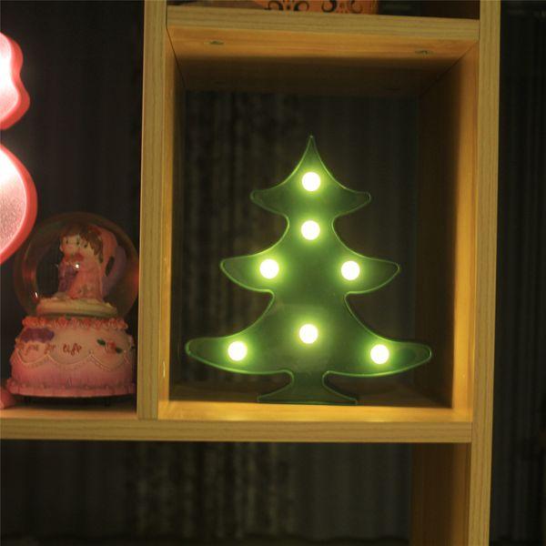 Compre Cambia Luz Elk La Batería 3D De De Navidad Escritorio Lámpara De Que Forma Historieta Nueva Novedad De La Lámpara Árbol De Mesa Lámpara Noche BoxrdCe