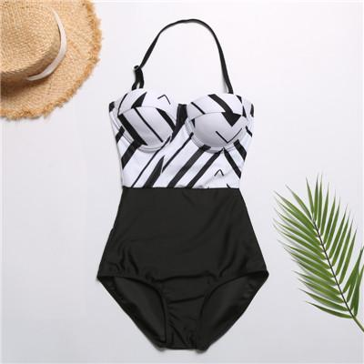 2019 Lady Sexy Beach Swim Wear Bathing Suit Push up Padded Swimming Monokini Bodysuits Jumpsuits Women Beachwear One Piece Swimsuit Swimwear
