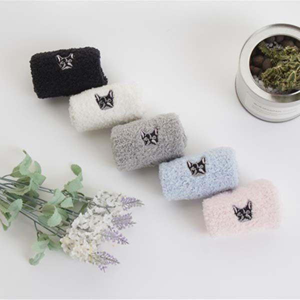 Теплые Пушистые махровые Носки Красивые Вышивка Лук Дизайн для Дамские Зимние Носки Прекрасные Носки Женское полотенце
