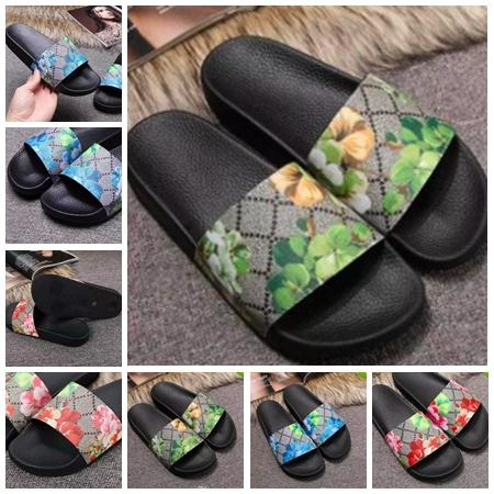 With Box Best Quality Slippers Sandals Slides Slippers Sandals Designer Shoes Huaraches Flip Flops For Man Woman by bag07 JFX610 10-18
