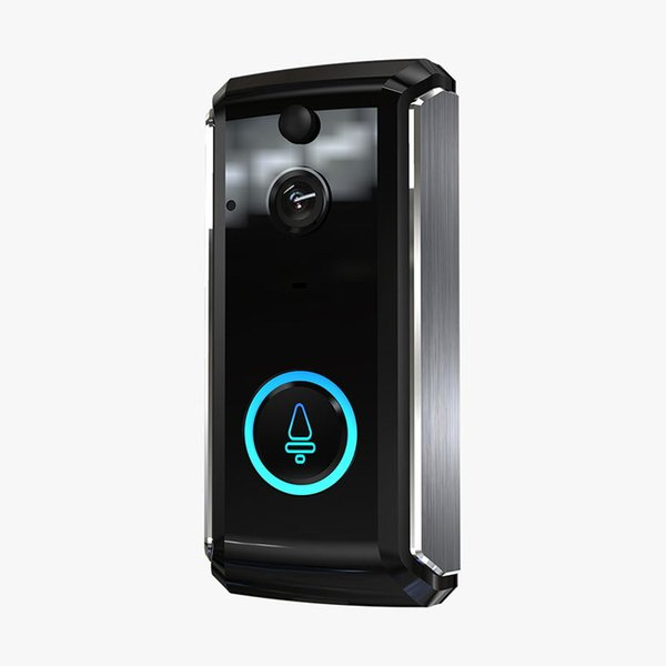 M101 Smart Home Video Doorbell 1280P720P HD for Wifi Connection Real-time Video Camera Two-Way Audio Lens Wide Angle Night Vision PIR Motion