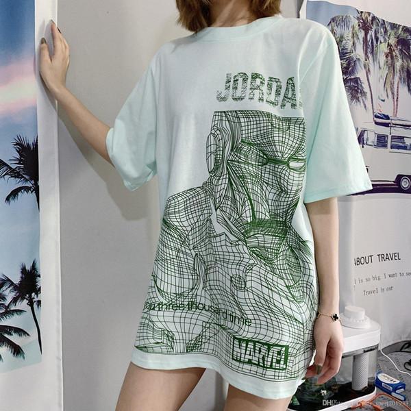 19SS New Luxury Brand Designer Jumpman Tshirt Short Tee Sleeve Traspirante Uomo Donna Moda Camo Love Heart Outdoor Streetwear T-Shirt