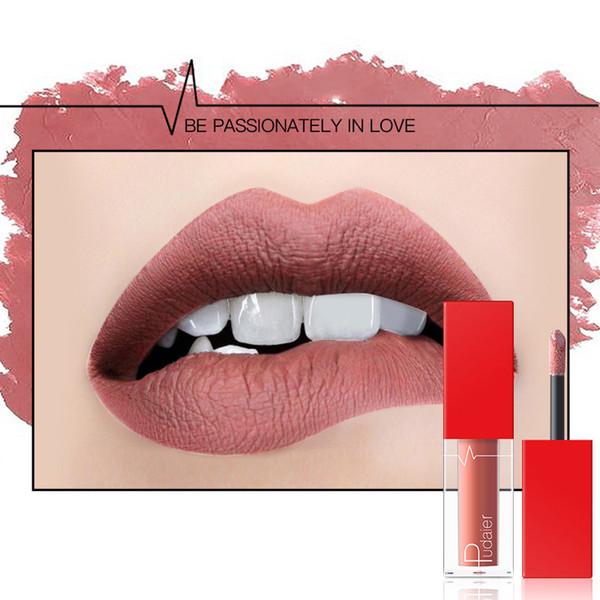 NEW Matte lip gloss Multi-color Non-stick cup no fading lasting Liquid lipstick Lip Gloss 18 colors