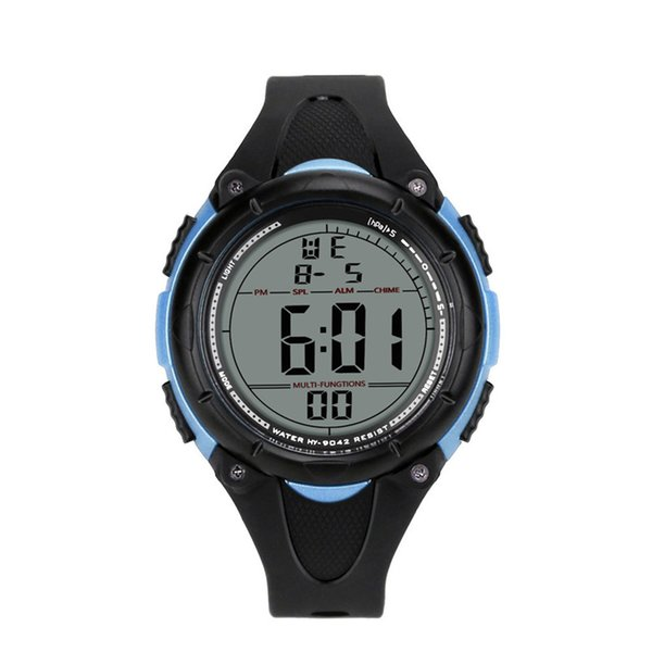 2019 Outdoor Fashion Casual Luxury Men Analog Digital Army Watch Sport LED Waterproof Electronics Wrist Watch relogio
