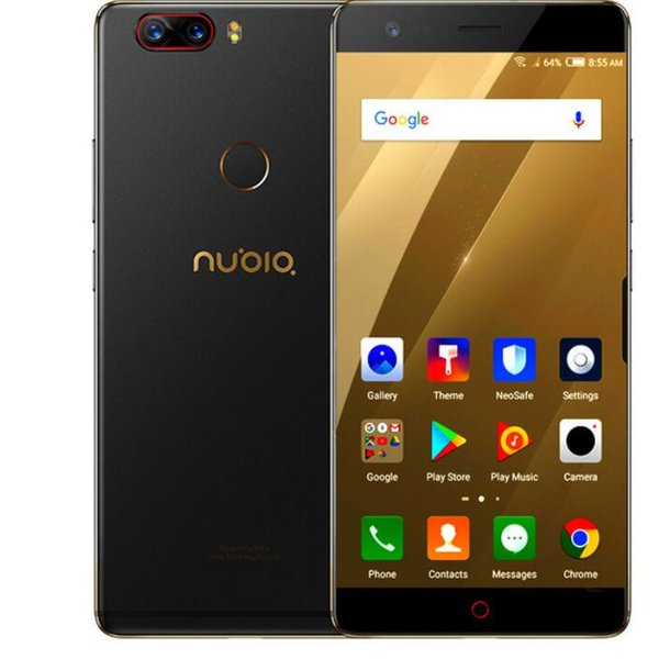 "Original ZTE Nubia Z17 Borderless 6GB/8GB RAM 64GB/128GB ROM Cell Phone Android 7.1 Snapdragon 835 Octa Core 5.5"" Dual SIM 23.0MP S"