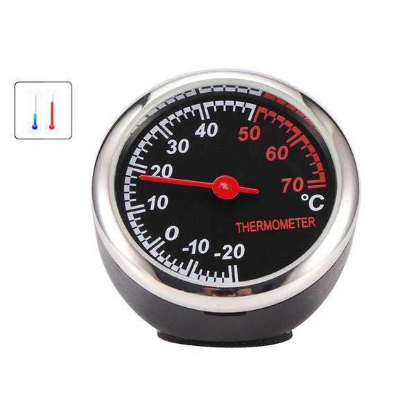 Car Digital Ornament AutomobileHygrometer Glass Mirror Surface Automotive Moisture Tester Digital Temperature Meter