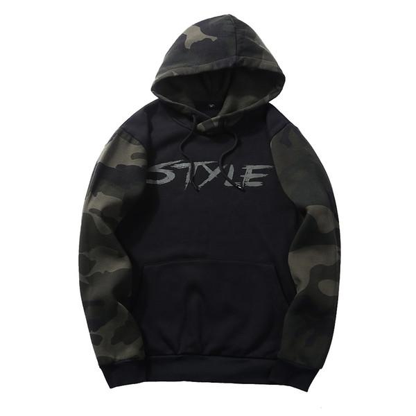 Pullover populaire à capuche pour hommes Sweatershirt Automne Hiver Jeunesse Sportswear Épaisse Style Casual Vêtements