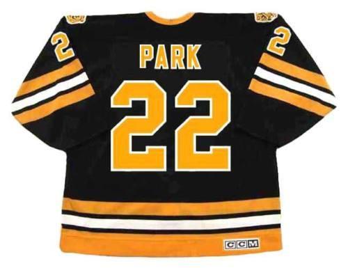 BRAD PARK Boston Bruins 1978 CCM Vintage voltar para trás Hockey Jersey All Costurado Top-qualidade Qualquer nome Qualquer número