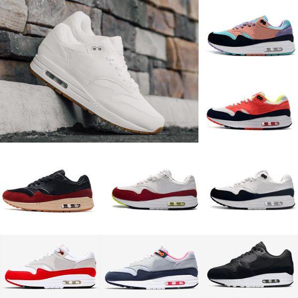 2020 Новые мужские кроссовки Радуга Классические 87 Zapatos Тренеры Годовщина LUXURY 1S Тайные Новое прибытие Проветривание Дизайнерская обувь