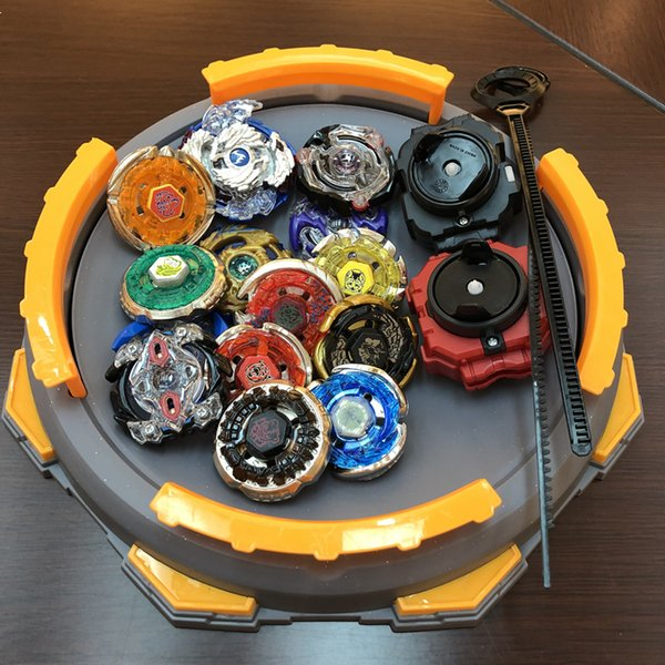 Drop shipping Beyblade Burst Set With Launcher Starter and Arena Stadium Bey Blade Blades Toys Spinning Top Kid Gifts Brinquedo