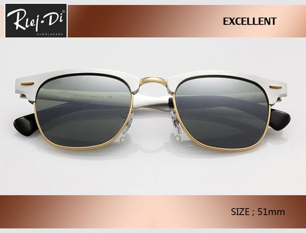 new hot sale aluminum Retro Club 51mm master Sunglasses brand designer vintage Women Men rd3507 Coating pink gradient gafas Sun glasses.