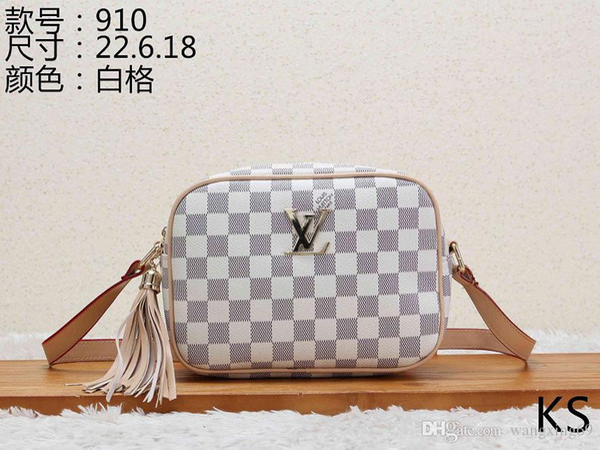 Fashion Bags Women Luxury Lady Leather Handbags Brand Wallet Shoulder Bag Tote Clutch Women Bags Designer For Women 027