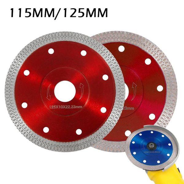 best selling 115 125 mm Porcelain Tile Turbo Thin Diamond Cutting blade Disc Grinder wheel