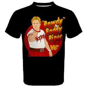 CAMISETA Cool Max Sport de Rowdy Roddy Piper Wrestling para hombre TEES RP2