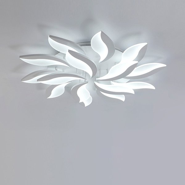 Современные СВЕТОДИОДНЫЕ Потолочные Светильники Светильники Гостиная Оборудование Акриловые Абажур С Удаленной Лампы Спальни Lamparas De Techo AC85-265V