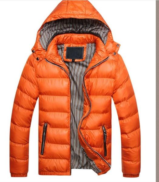 Sonbahar ve kış Avrupa ve Amerikan Kore versiyonu uyum çıkarılabilir kapüşonlu moda erkek kalınlaşmış çift pamuklu yastıklı ceket ceket
