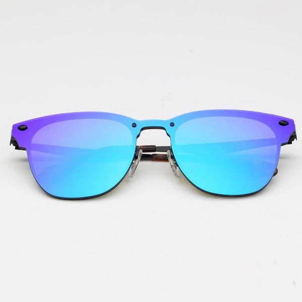 Miroir 153 / 7V noir / violet-bleu