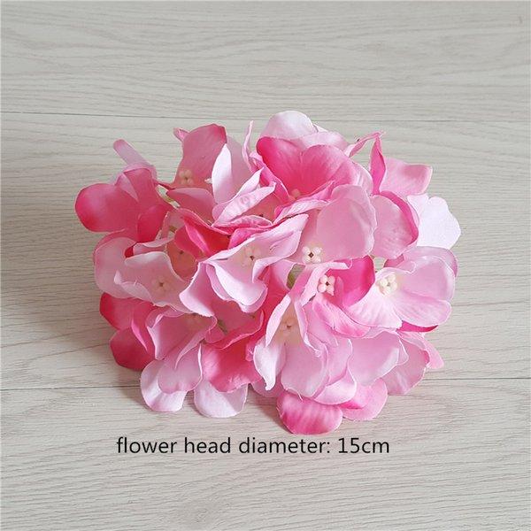 15cm-2 hydrangea head
