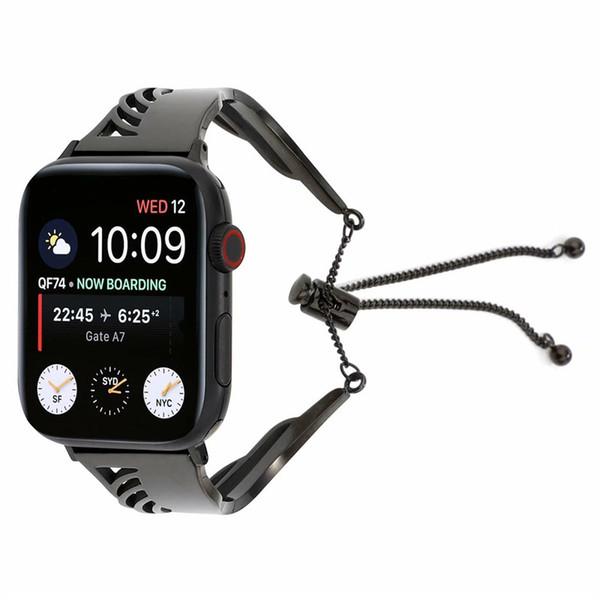 Wing Armband Armband für Apple Watch Band 42mm Serie 38mm Armband Ersatzglied Armband Armband für IWatch Fine Metal Wrist Belt