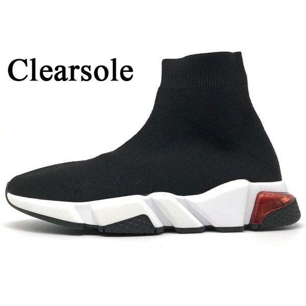 A29 Clearsole Black White 36-45