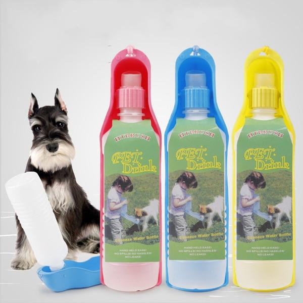 Haustiere Falten Becher Tuba 500 ml Hund Wasserflasche Reine Farbe Tragbare Tasse Gut Verkaufen Mit Hoher Qualität 2 85hw J1
