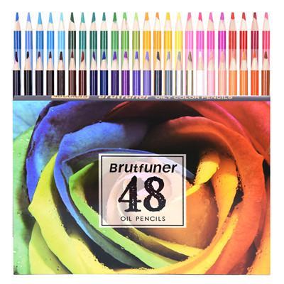 48 lápices aceitosos