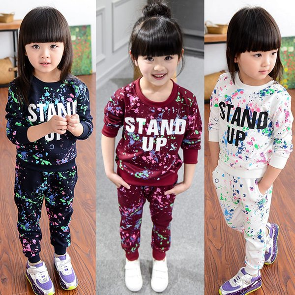e41f229d4dc19 2019 Children Clothing 2018 Autumn Winter Girls Clothes Outfit Kids Clothes  New Year Costume Suit For Toddler Girl Clothing Sets From Babymom, $34.13  ...