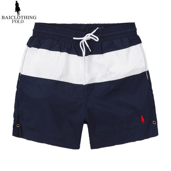 19ss New Summer polo Board Shorts small horse embroidery Ralph Men's Beach surf Shorts Pants Swimwear Men swimming trunks 007