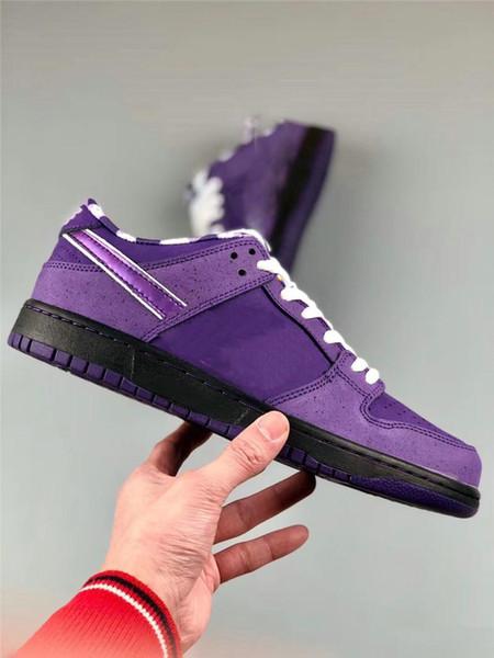 Atacado designer de baixo dunk Carey azul roxo lagosta running shoes dunk mulheres ampliado mocassins tamanho 36-45