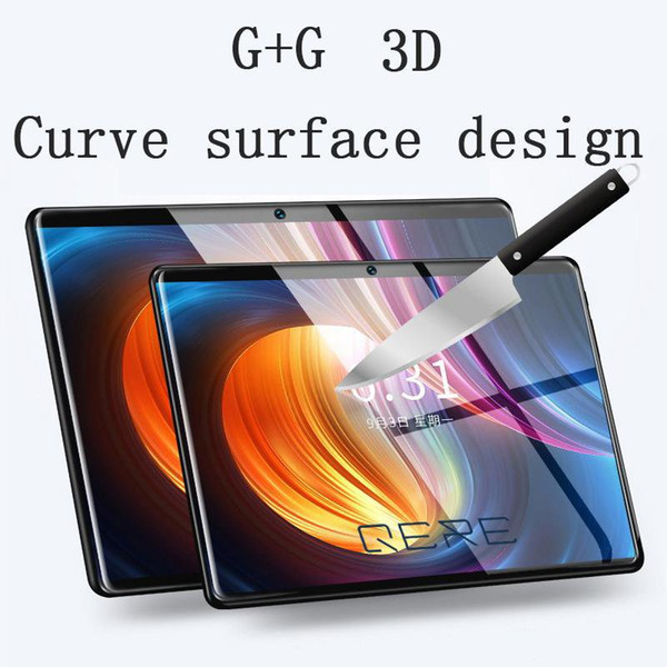 2019 QERE QR8 10.1 Inch 10 Core 4G+64G Android Tablet PC SIM Dual Camera 8.0MP IPS MTK6797 3G WiFi Call Phone Tablet