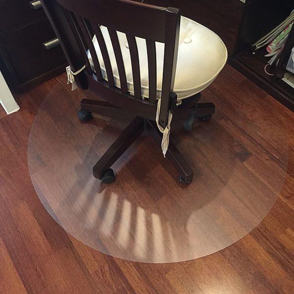 2018 new transparent wood floor protection mat PVC plastic floor carpet computer chair mats protectors plastic round carpet rug