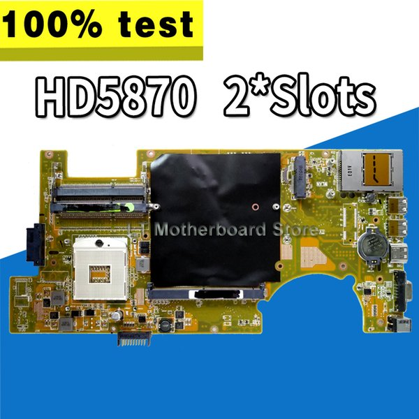 G73JH Placa Mãe USB2.0 REV: 2.0 Para ASUS G73JH G73J G73 Laptop motherboard Mainboard teste 100% OK