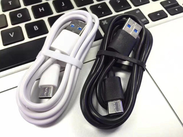 Type c Usb c Micro 5pin cable 1m 3ft white black usb data sync charging cables for samsung s4 s6 s7 edge s8 s9 htc android phone