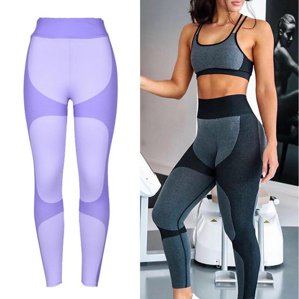 Pantaloni di yoga delle nuove donne di autunno e di inverno Pantaloni di sport delle ghette di stampa digitale di Hip-lifting sexy