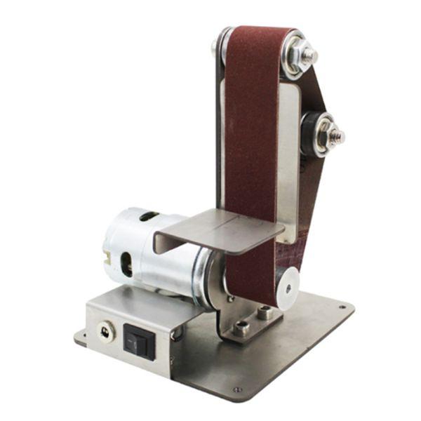best selling New Mini DIY Belt Sander Sanding Grinding Machine Abrasive Belts Grinder Polishing L9 #2